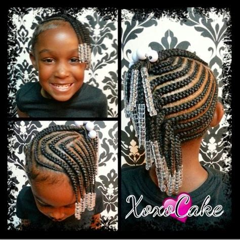 9 year hair braided witb weave little black girl braid hairstyles google search baby