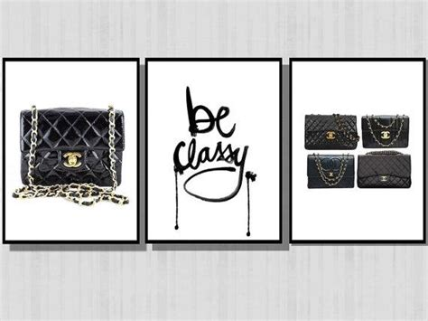 Full Size Bedroom Furniture Be Classy Chanel Purses Black And White Prints
