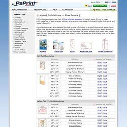 brochure layout guidelines brochures pearltrees
