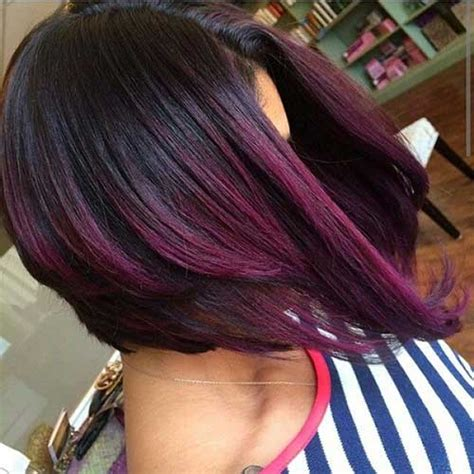 purple hair styles for black hair 15 short haircuts for dark hair short hairstyles 2017