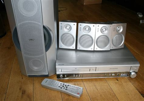 dvdvcr home theater system  speakers philips mxvr