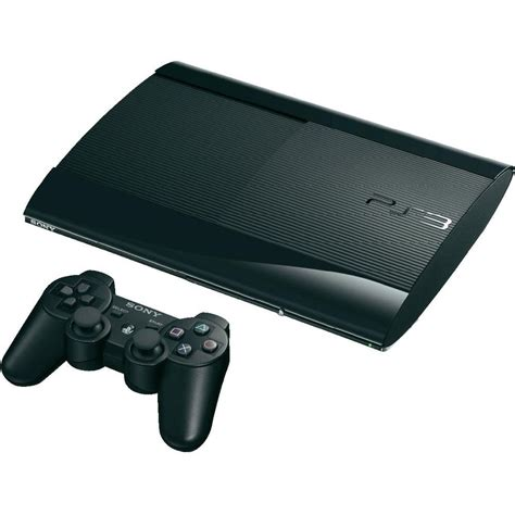 sony ps3 slim 500gb schwarz from conrad