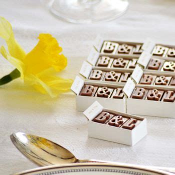 chocolate wedding favour ideas uk 37 personalised wedding favour ideas real wedding