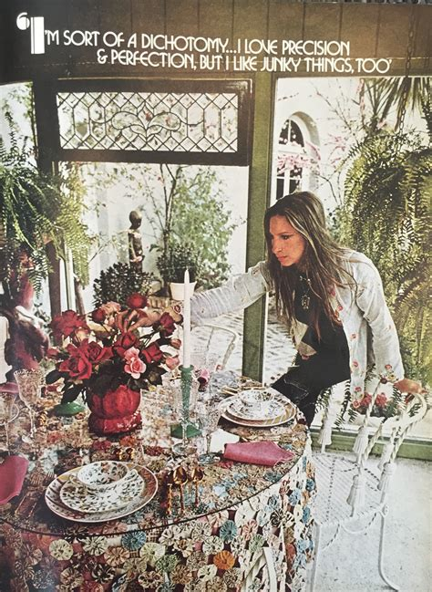 Home Decor Ideas For Small Living Room Barbra Streisand House Tour August 1974 House Beautiful