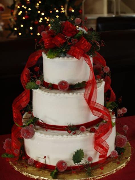 ideas  christmas wedding cakes  pinterest winter wedding cakes white