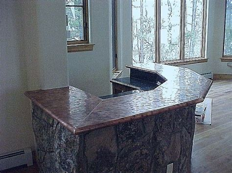 Hammered Copper Bar Top by Copper Top Bar Hammered Copper Bar Top Price 50
