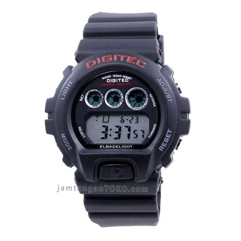 Jam Digitec Merah gambar jam tangan digitec digital dg 2098t hitam merah