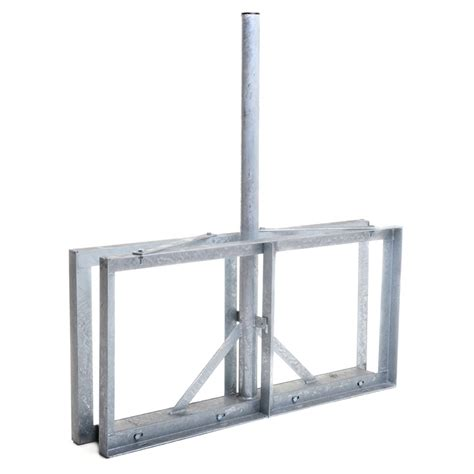 """Antiference 3' x 2"""" Non Penetrating Roof / Patio Mount"""