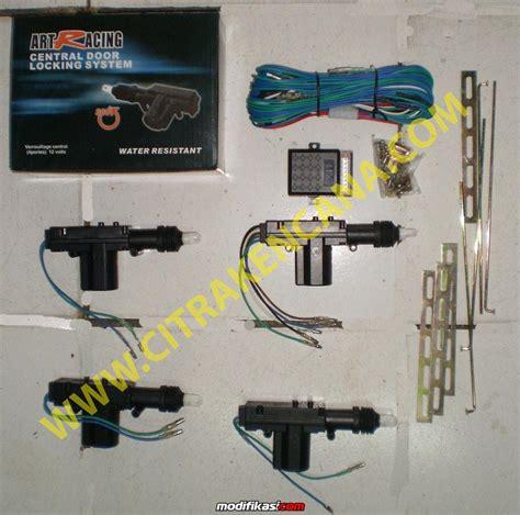 Alarm Lock Mobil baru promo paket central lock alarm mobil bergaransi