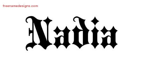 nadia archives free name designs