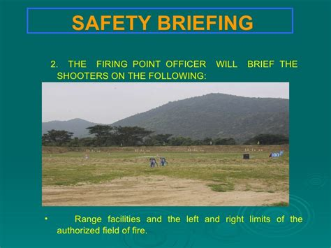 Passenger Briefing Card Template by Range Safety Procedure