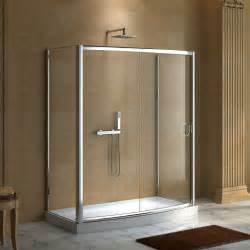 glass shower enclosures 59 quot x 30 quot karev shower enclosure shower enclosures and