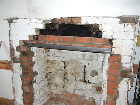 How To Repair Fireplace Brick by Saturday Morning Home Repair Restoring The Fireplace