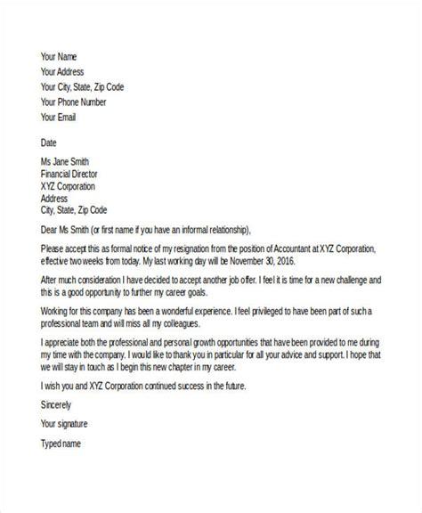 resignation letter new atchafalaya co