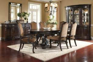 Traditional Dining Room Furniture by Legrand Oval Dining Room Set 203221 1715tp Bs Art Furniture