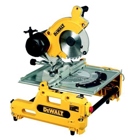 dewalt drop saw bench dewalt dw743n 250mm combination flip over saw 240v dw 743 n