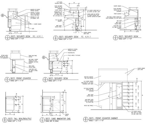 sections and layout of front office caprock design lobby security desk section desk
