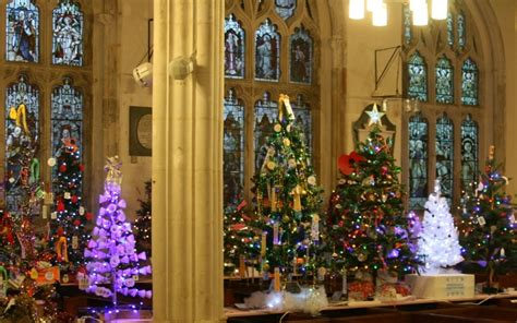 christmas tree festival diocese of exeter