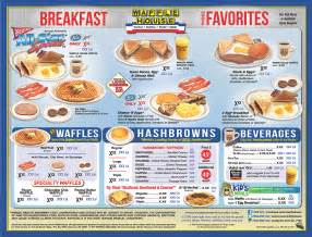 house menu waffle house menu breakfast 2 waffles bacon and