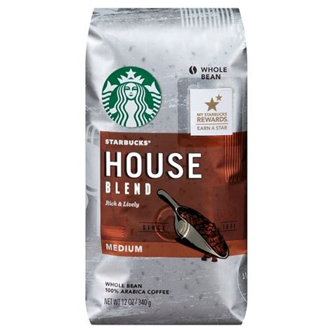 Starbucks® House Blend Whole Bean Coffee 12oz : Target