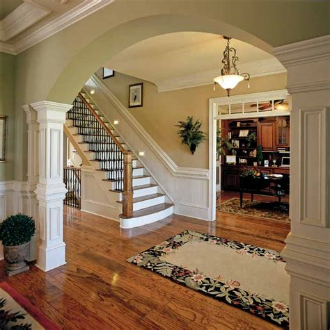 colonial revival style interior studio