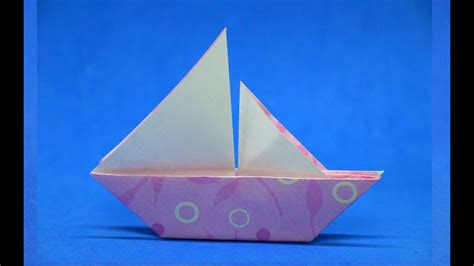 how to make a paper boat out of a4 how to make a paper boat simple easy step by step