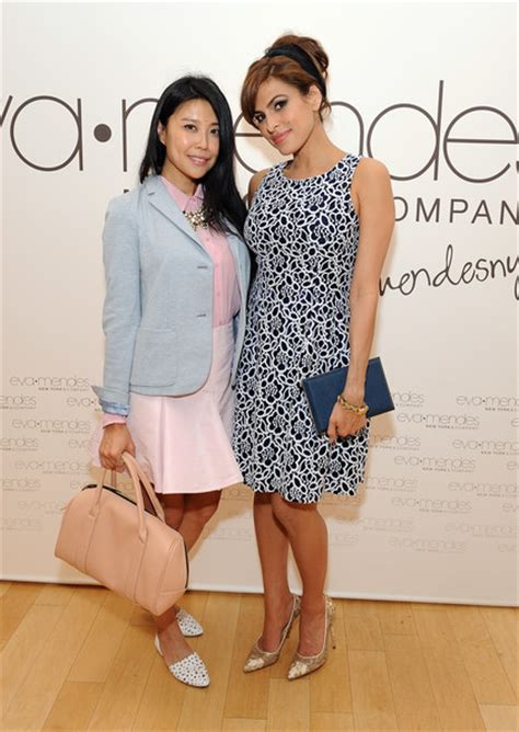 eva wu actress eva mendes and jenny wu photos photos zimbio