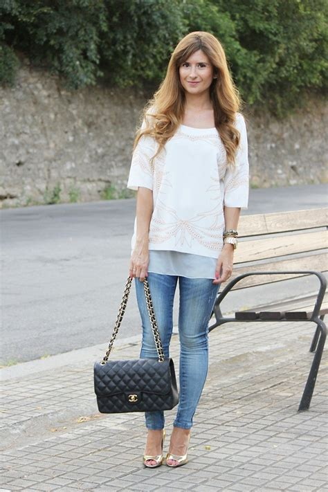 Maudi Blouse Jumbo Casual Blouse Casual a trendy zara blouse suiteblanco chanel bag