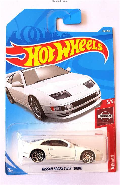 hot wheels nissan zx twin turbo white  nissan