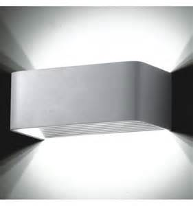 applique murale led design rectangle quadra 20cm 6w