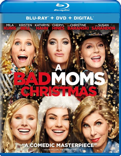 mobile movies a bad moms christmas by mila kunis and kristen bell a bad moms christmas home release info nothing but geek