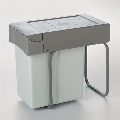 cubo basura cocina cubo de basura 21 l rectangular de polipropileno para cocina