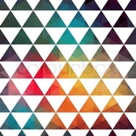 Vorlagen Geometrische Muster Vektor Dreiecke Muster Moderne Muster Bunte Textur Im Stil Geometrie Vorlage