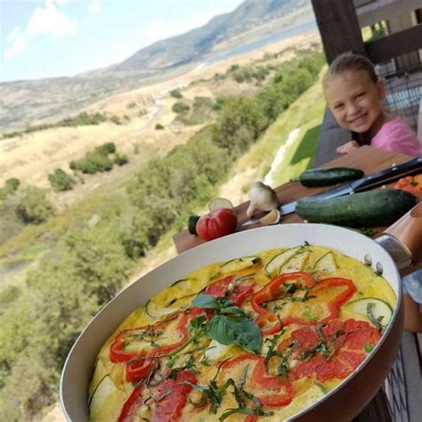 Simple Garden Vegetable Frittata Clean Food Crush Garden Vegetable Frittata