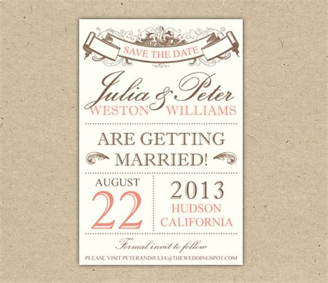 Save The Date Powerpoint Template by Save The Date Free Printable Templates Vastuuonminun