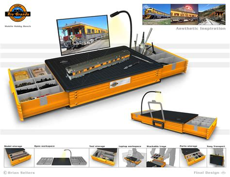hobby work bench mobile hobby bench by brian sellers at coroflot com