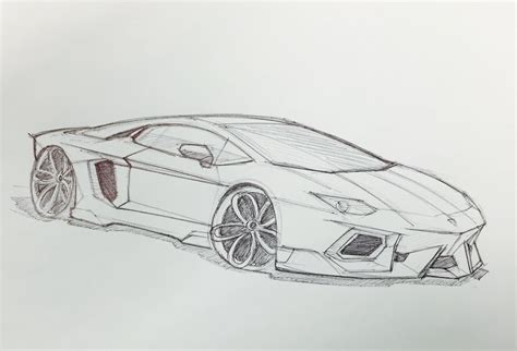 lamborghini sketch easy lamborghini aventador sketch drawings pinterest