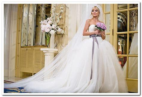kate hudson wedding vera wang kate hudson s dress in bride wars 4 500 size