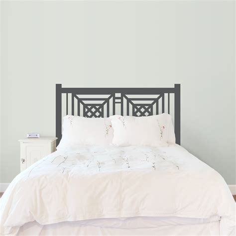 wall decal headboards newfield headboard wall decal