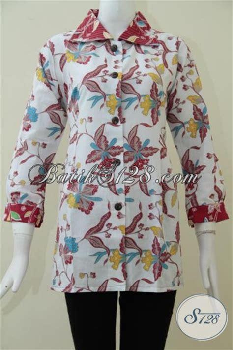 Q1 Rok Batik 78 Bawahan Batik Rok Dewasa Ro Kode E5357 2 pakaian batik resmi wanita dewasa baju batik blus motif bung bunga untuk seragam kerja