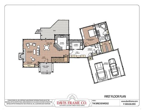post frame homes plans timber frame mountain house the breckenridge post and