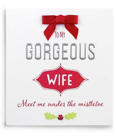 printable wife xmas cards christmas card to wife christmas cards ideas