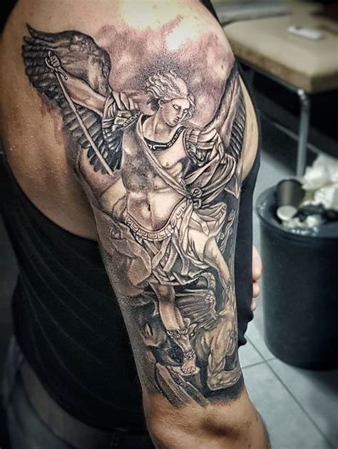 michael angel tattoo best 25 archangel michael ideas on st