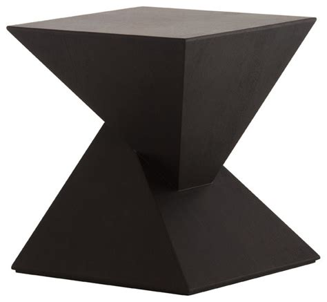 black contemporary end tables giza side table black oak modern side tables and end