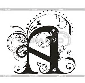 capital letters serie of high quality graphics cliparto
