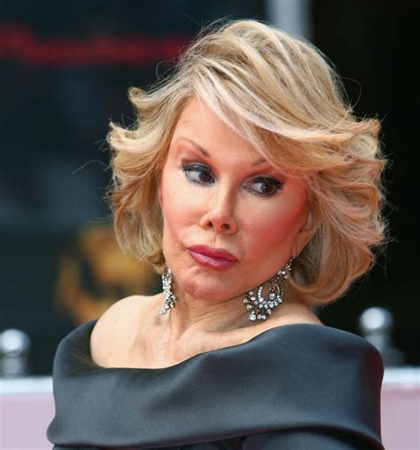 joan rivers hairstyle 2014 joan rivers tells offensive joke about ariel castro s victims