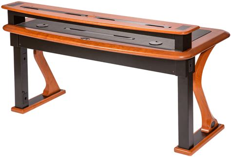 Computer Monitor Desk Shelf by Premium Wood Desktop Riser Shelf 2 Caretta Workspace