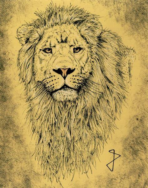 imagenes realistas de animales leones en dibujo realista imagui