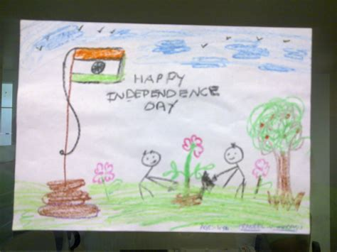 drawing themes for independence day kidz corner independence day drawing
