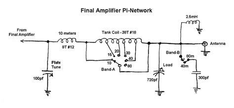 wexi wingfoot vfo exciter final amplifier pi